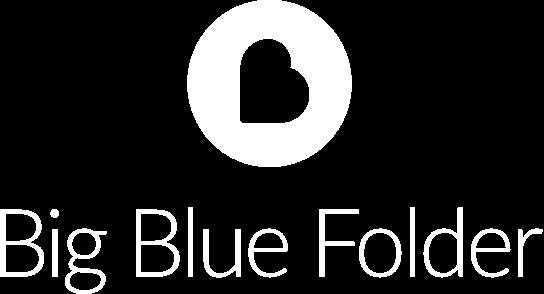 Big Blue Folder